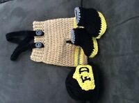 Crocheted photoprops