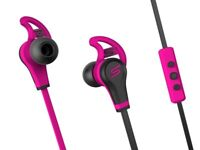 SMS Audio STREET by 50 Cent In-Ear Wired Sport Pink Headphones New Boxed