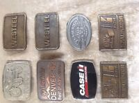 Miscellaneous belt buckles