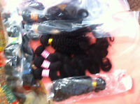Hair Extensions: Wefts and Wigs (Human and Non-Human Hair) From
