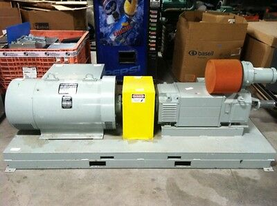 New 60 KW 75 KVA Kato 170-300 Volts 45-65 Hz V In: 480 Electric Motor Generator