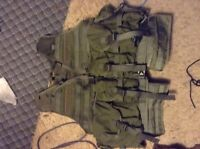 Airsoft / paintball military style tactical vest