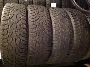 4 pneus d'hiver 185/65 r15 g??n??ral altimax artic,,,,110$