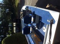 162 PRO SERIES  princecraft with 50hp.  evinrude and trailer