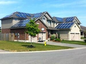 FREE SOLAR PANELS, FREE INCOME, EVENTUALLY FREE HYDRO