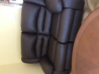brand new 100% Australia leather love seat for sale 50%OFF! Watc