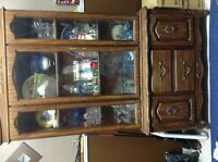 Very old china cabinet in immaculate condition
