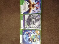 XBOX 360 games (3 in total: Disney's Universe...)