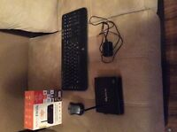 MyGica 1800 android box with wireless mouse and keyboard