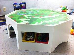 Pending Pickup:  Toy Table - Great for Trains, Lego or Playmobil