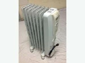 2 NOMA OIL FILLED HEATERS