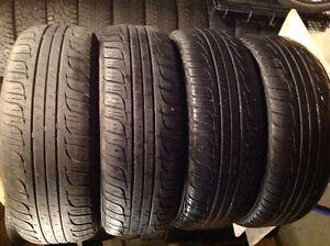 4 pneus d'été  205/65 r15 toyo Spectrum Touring radial,,,125$