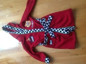 Cars fleece robe