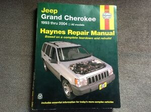 Haynes Repair Manual for JEEP