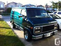 WANTED. SHORTY VAN. GMC CHEVROLET OR DODGE