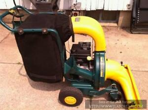 Commercial Vacuum, Chipper, Shredder (gas self propelled)   $650