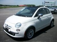 2014 Fiat 500 C LOUNGE CUIR CONVERTIBLE