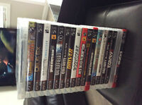 18 PS3 games. Mint condition