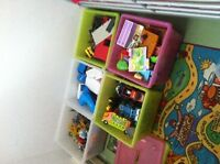 Array of kids toys and books.