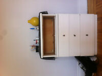 commode blanche / White shelve