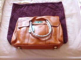 Designer style leather handbag