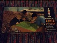 Waddingtons Table Soccer Football Game