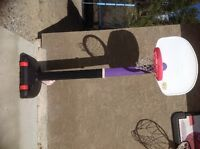 Little Tykes, adjustable, portable Basketball hoop and basketbal