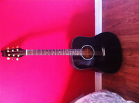 Beauty Black Denver guitar bought from Long & Mcquade only $110
