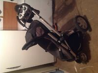 Quincy buzz stroller with seat and bassinet