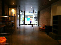 Plateau/Boul St Laurent: Magnifique local-Beautiful retail space