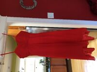 Red Bridesmaid or Prom Dresses