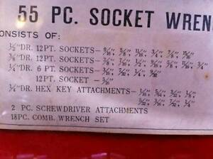 55 piece socket wrench set North Shore Greater Vancouver Area image 3