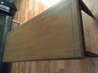 wood rectangular Table