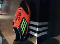 Adidas F50 adizero xtrx SG en cuir taille 9 1/2