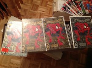 SPIDERMAN 1st vol(1990) Run Lot Comic Collection Todd McFarlane