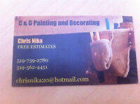 C&G Painting for Interior and Exterior - FREE ESTIMATE