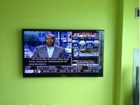 Fast Tv wall mounting Service - Tv mount included 416-518-1538