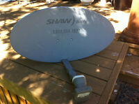 Shaw satillite dish and reciever