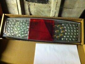 Rubbolite Led Rear Light Model 756 Right & Left Hand