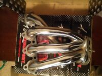 Crome header for d-series 97 civic bran new