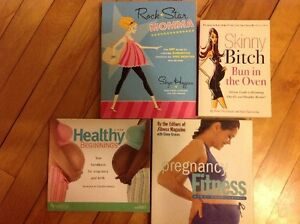 Great assortment of pregnancy maternity baby books