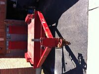 2013 Red Trailer very Heavy