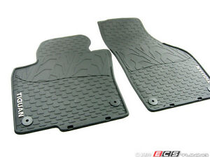 VW Tiguan monster floor matts oem