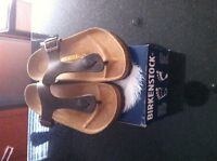 New Leather Birks Size 41