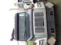 1998 Freightliner FL 70 with picker