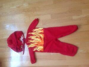 Infant devil costume