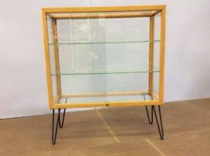Mid-Century display cabinet 1950's era by Waddell.