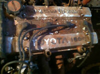 Toyota Twin Cam 16 Valve 1600 and Transmission