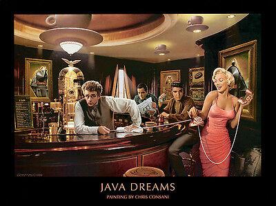 Chris Consani Java Dreams Cafe Movie Stars Print Poster