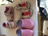 Toddler size 6 shoes (3 pair)